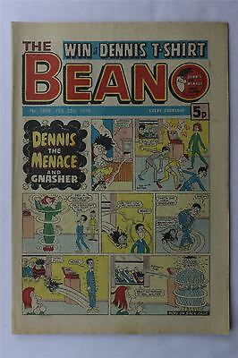 The Beano #1858 February 25th 1978 FN Vintage Comic Bronze Age Dennis The Menace