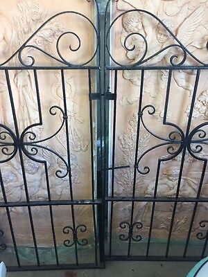 Driveway Gate Iron Spanish Revival Style