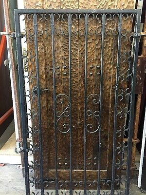 Iron Gate Pedestrian Gate 58 X 34