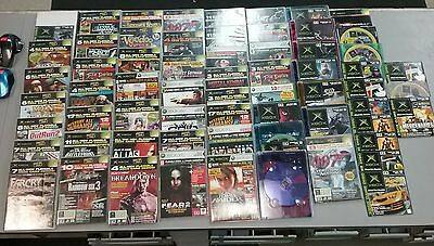 Original Xbox/Xbox360 Demo Disc Lot of 64 AS IS