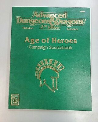 Advanced Dungeons and Dragons 2nd Ed. Age of Heroes Supplement