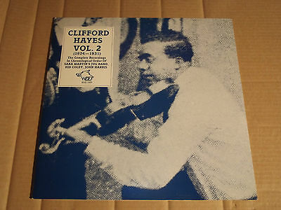 Clifford Hayes - Vol. 2 - Complete Recordings - 1924 - 1931 - Lp - Wolf Wjs-1005