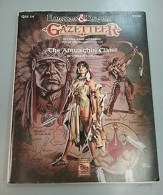 Dungeons and Dragons Gazetteer 14 The Atruaghin Clans Book
