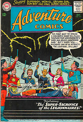 Adventure Comics #312 - Tales Of The Legionnaires - (Grade 5.0) 1963