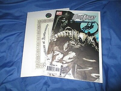 MOON KNIGHT: Directors Edition #1 Signed by Stan Lee  w/COA  ~Movie/TV