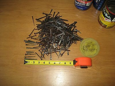 OLD SQUARE CUT NAILS - Various Size/Shape - App. 5 LBS. - New Old Stuff