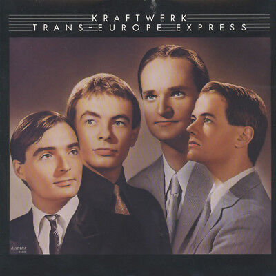 Kraftwerk - Trans-europe express (Vinyl LP - 1977 - US - Reissue)