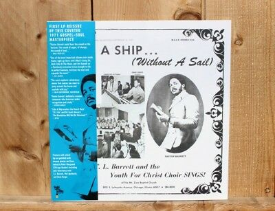 Pastor T.L Barrett & the Youth For Christ Choir Like A Ship Vinyl LP Record NEW!
