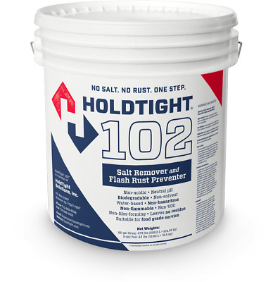 HoldTight 102 -Salt Remover Flash Rust Inhibitor-5 Gallon