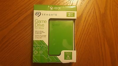 Seagate 2TB Game Hard Drive for Xbox One and 360 (STEA2000403) Green