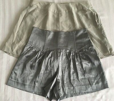 ❤️SILK SHORTS LOT❤️ Contemporary Designers Marciano Covet