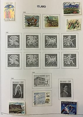 Island Iceland 1989/90 Lot Of 8 Used For Description Look At The Picture Rare