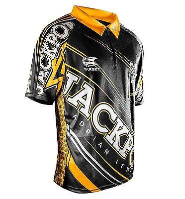 Target Adrian Jackpot Lewis Official Replica Coolplay Darts Shirt