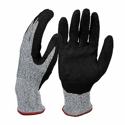 Heavy Duty Protective Work Safety Gloves Builders Gardening Mechanic Extra Grip
