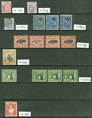 Tonga 1886-1970 mint & used selection on 5 double sided stockcards. Nice clean..