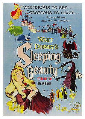 Sleeping Beauty (1959) - A1/A2 POSTER **BUY ANY 2 AND GET 1 FREE OFFER**