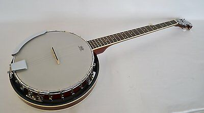 B-Stock  Clearwater Electro Acoustic G Bluegrass Banjo 5 String