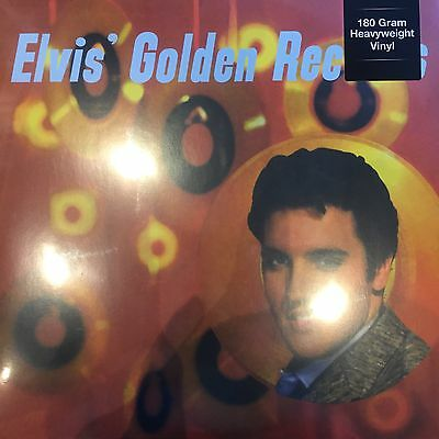 Elvis Presley 'elvis Golden Records' 180 Gram Vinyl Lp - New & Sealed