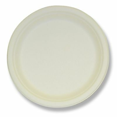"Eco Products EP-P011 Plate,sugarcane,round,7"",we (epp011)"