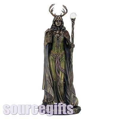 New * Keeper Of The Forest * Pagan Wicca Figurine Ornament From Nemesis Now