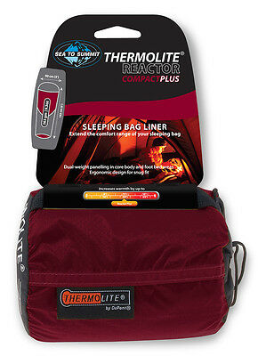 Sea to Summit Reactor Plus Compact Thermolite Mummy Sleeping Bag Liner