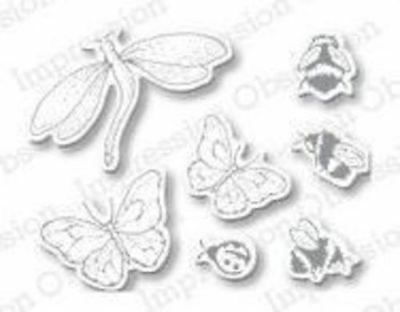Impression Obsession Dies - Insect Set DIE139-I