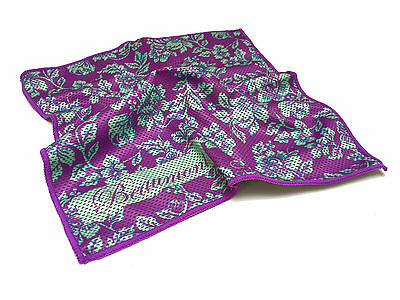 Flute Swab - Beaumont Colour Absorbent Bamboo Lint Free Gauze Care - Violet Lace
