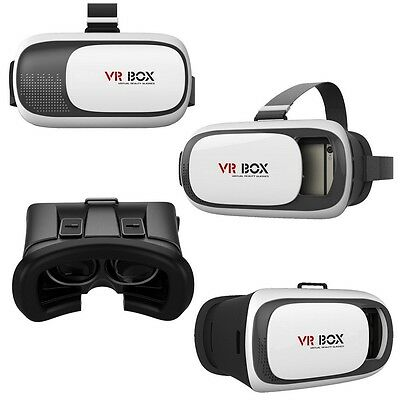 3D Brille VR BOX 2.0 Virtual Reality für iphone samsung huawei sony lg