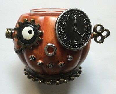 Yankee Candle Halloween 2016 Steam Punkin Tea Light Candle Holder New Sold Out