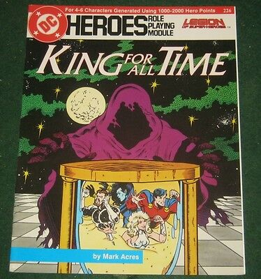 DC HEROES KING FOR ALL TIME Role Playing Module Legion of Superheroes Chessmen 4