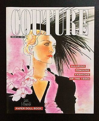 Couture # 2, Fashions of the 1930's Paper Dolls Book, 8 Pages, 2012