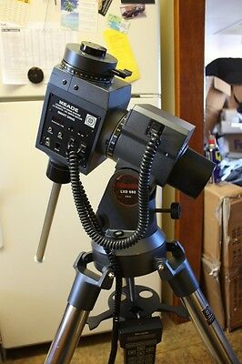 Meade LXD 650 Heavy Duty GOTO EQ Telescope Mount & Tripod #1697 Computer Drive