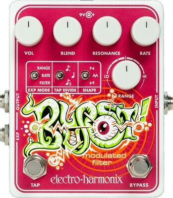 Electro-Harmonix EHX Blurst Modulated Filter Pedal