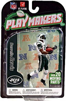 NFL Playmakers Series 3 Darrelle Revis Jets 4in Action Figure McFarlane Toys