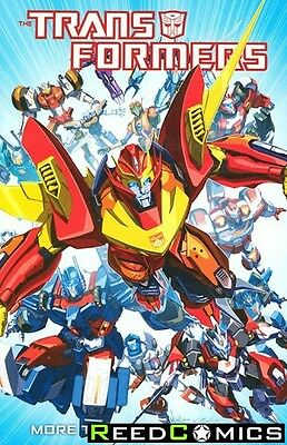 TRANSFORMERS MORE THAN MEETS THE EYE VOLUME 1 GRAPHIC NOVEL New Paperback