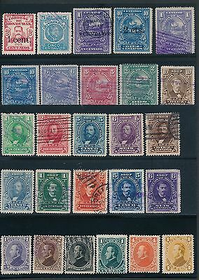 1879 - 1913 Honduras OLD COLLECTION; MH & USED; CV $50+