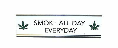 Aahs Engraving Novelty Desk Sign, Stoner Edition, 8 X 2.5 inches