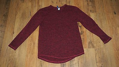 Style Fashion Red Hoodie Sweater Size M mens