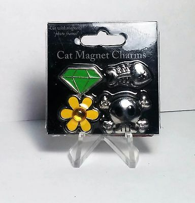 Little Gifts 4Pc Cat Magnet Charms