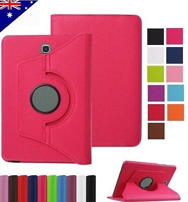 360 Rotate Leather Smart Case Cover for Samsung Galaxy Tab A 8.0 T350 T355