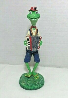 Tall Tunes Toadally in Tune Frog Toad Figure Russ Berrie