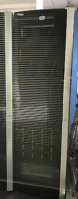HP 10642 G2 42U Server Rack Cabinet Enclosure With Front + Rear Doors