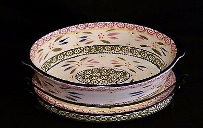 Temptations by Tara Old World Casserole Dish with Wire Rack and Matching Platter