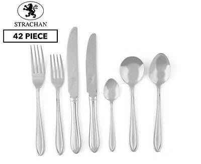 Strachan Soprano 42-Piece Cutlery Set - Stainless Steel