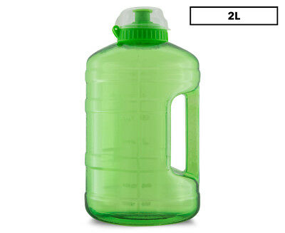 Russell Athletic 2LPD Drink Bottle - Lime