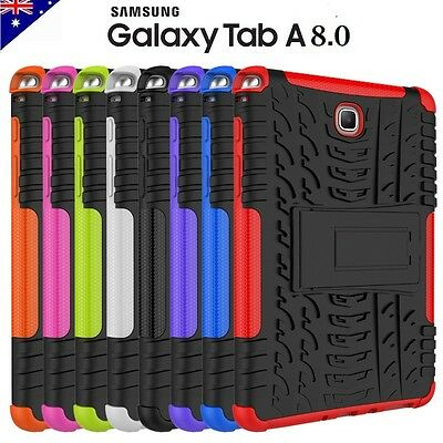 """Heavy Duty Tough Case Strong Cover For Samsung Galaxy Tab A 8.0 """" T350 T355"""