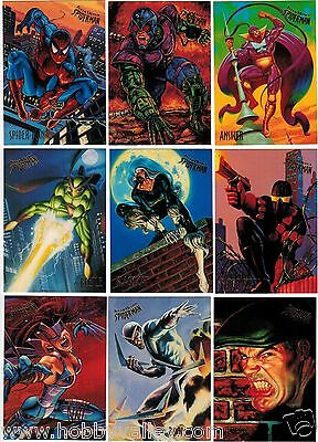 1995 Spider-Man Fleer Ultra Series Ii 2 Marvel Complete Card Set #1-150