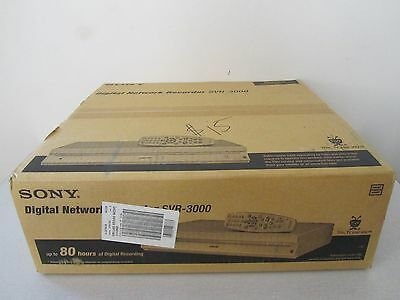 NEW SONY Tivo SVR-3000 Digital Network 80 Hour Hard Disk Recorder NIB