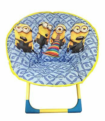 Despicable Me Minion 2 Made Moon chair for Children kids bedroom