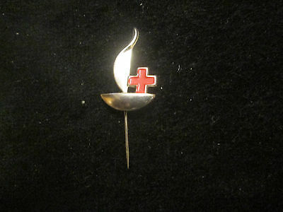 Red Cross Blood Donor  (Oil Lamp)   Pin     France